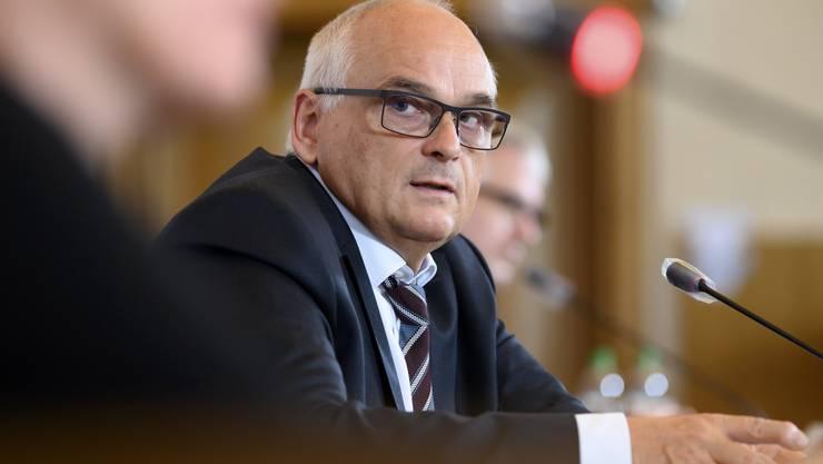 Pierre Alain Schnegg, SVP-Regierungsrat.