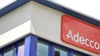 Der weltgrösste Personalvermittler Adecco blickt auf erfolgreiches Quartal zurück. (Archiv)