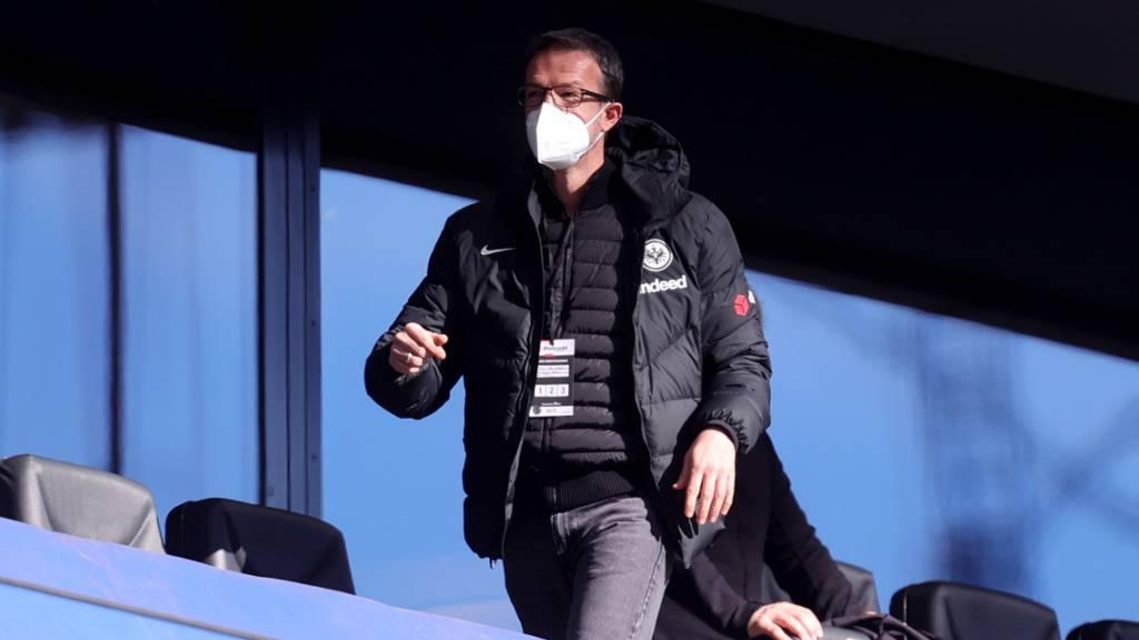 Der nächste gewichtige Abgang in Frankfurt: Auch Sportchef Fredi Bobic verlässt die Eintracht