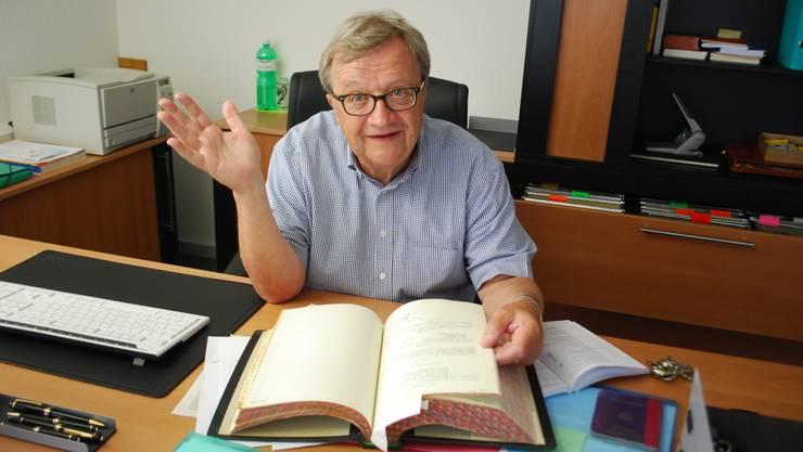 Hans Ulrich Mathys will nicht mehr SVP-Präsident im Aargau werden
