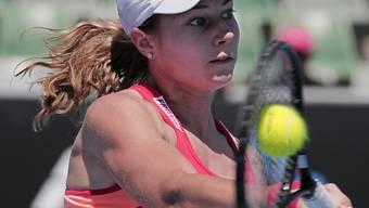 Stefanie Vögele nahm auch noch die letzte Qualifikationshürde