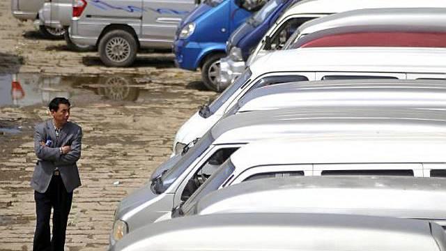 Automarkt in China (Archivbild)