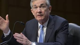 Der US-Senat ist dem Vorschlag von US-Präsident Donald Trump gefolgt und hat Jerome Powell als neuen Chef der US-Notenbank Fed bestätigt. (Archivbild von Jerome Powell)