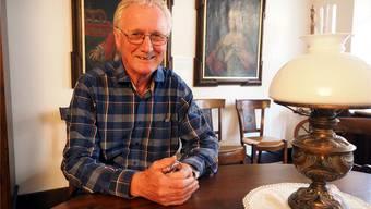 «Nach bald 40 Jahren ist es Zeit, das Museum zu sanieren»: Hannes Burger in der Sophie-Rüscher-Stube, die neu auch als Trauzimmer genutzt wird.