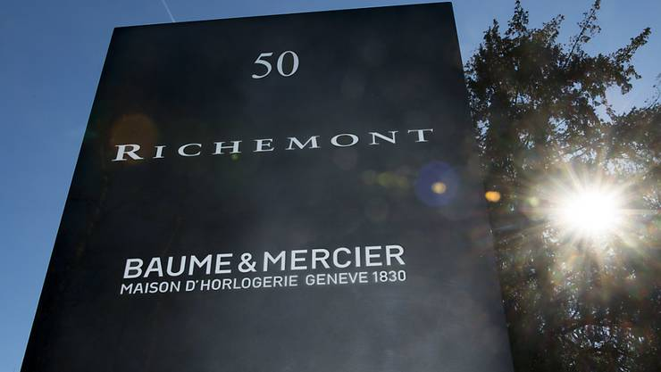 Der Genfer Luxusgüterkonzern Richemont hat im ersten Halbjahr markant mehr verdient als in der Vorjahresperiode. (Archiv)