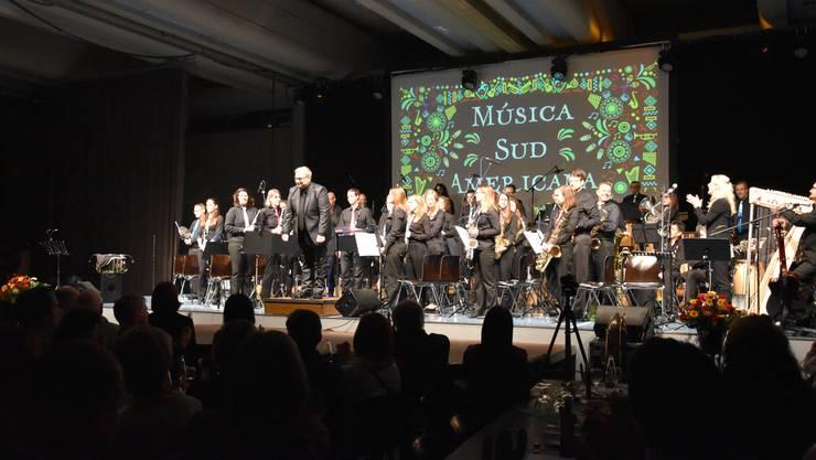 Gelungenes Jahreskonzert: Die Harmonie Urdorf wurde vom Publikum mit reichlich Applaus und viel Jubelrufen belohnt.