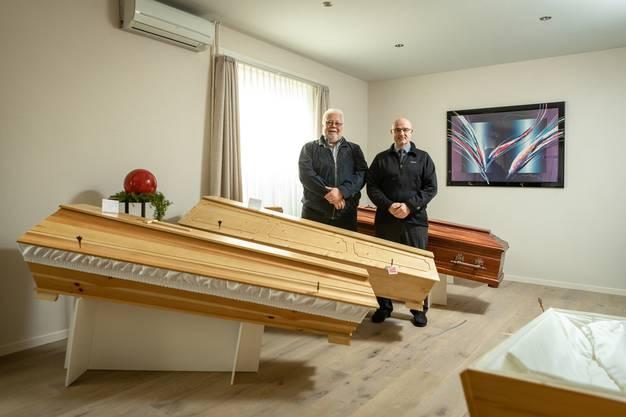 Weitere Impressionen aus dem Bestattungsunternehmen Caminada AG.