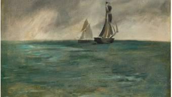 """""""Marine, Temps d'orage"""" (1873) des französischen Impressionisten Édouard Manet hat das Kunstmuseum Bern im Zuge des Gurlitt-Erbes 2014 erhalten. Jetzt verkaufen die Berner das Gemälde für 4 Millionen Dollar nach Tokio."""