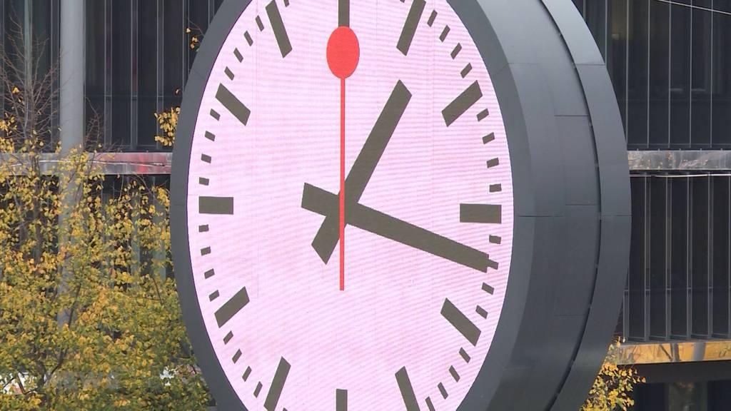SBB-Verspätungen: Bahnunternehmen will wieder pünktlich sein