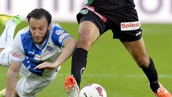 GC's Skelzen Gashi traf auch gegen St. Gallen