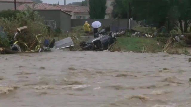 AP: Frankreich: Anwohner beschreiben flutartige Überschwemmung