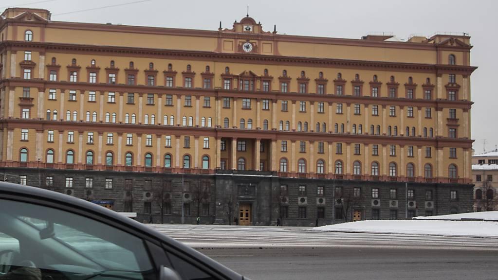 Das Geheimdienst-Hauptquartier am Moskauer Lubjanka-Platz.