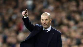 Zinédine Zidane kann einen grossen Sieg für sich beanspruchen