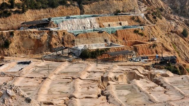 Eine Seltene-Erden-Mine in der chinesischen Provinz Jiangxi (Archiv)