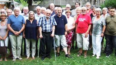 Jubiläumsfeier 150 Jahre  Jakobeverein Aarau & Umgebung,  Roggenhausen mit Angehörigen.