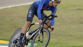 Zeitfahr-Weltmeister Filippo Ganna feierte seinen zweiten Etappensieg im Giro