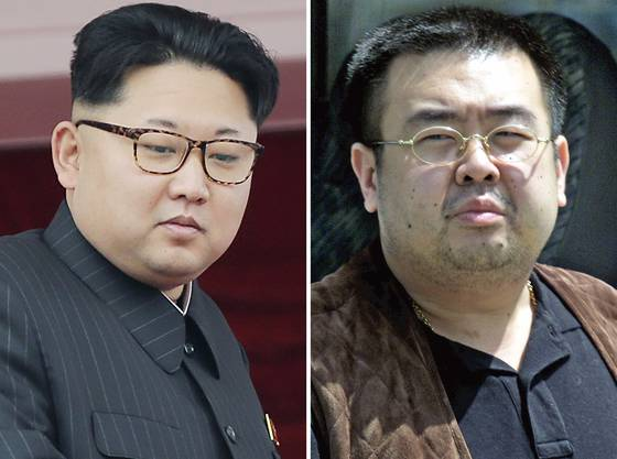 Halbbrüder: Nordkoreas Diktator Kim Jong Un und Kim Jong Nam.