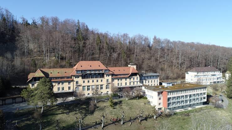 24.März 2020: Die frühere Klinik Allerheiligenberg ob Hägendorf wird bei Bedarf zu einem Spitalzentrum für Coronainfizierte aus Alters und Pflegeheimen