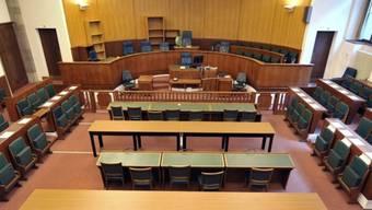 Blick in einen Gerichtssaal (Symbolbild)