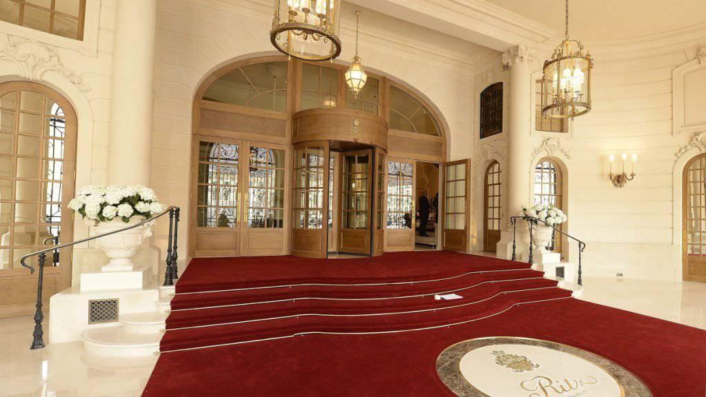 Vier Jahre lang wurde das Ritz in Paris renoviert. Jetzt ist die Nobelherberge wieder offen - zumindest teilweise.