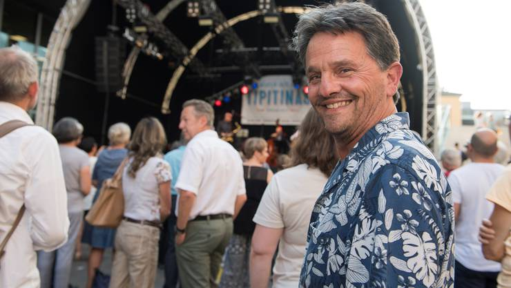 Der ausgewanderte Ehrendinger Kurt Binder ist aus Neuseeland an die Badenfahrt gereist. Hier zieht es ihn jeden Abend zur Blues- und Jazz- bühne Tipitina's.
