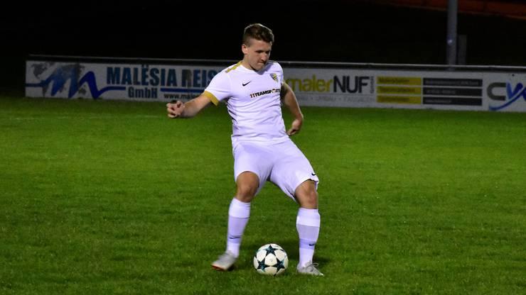 Verteidiger Tobias Merki gehört zu den wichtigsten Spielern des FC Koblenz.