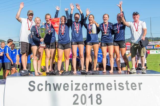 Die Frauen aus Jona sicherte sich den sechsten Schweizer Meistertitel in Folge