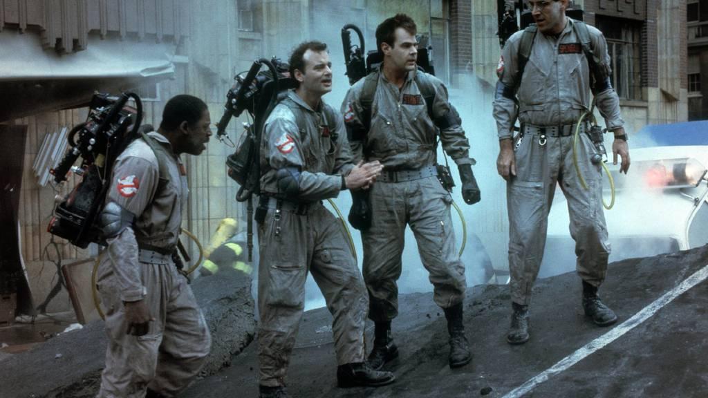 """Die alten """"Ghostbusters"""" aus den 80er Jahren."""