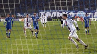 Der FCB erreicht dank einem Unentschieden gegen Dnjepr den Europa-League-Achtelfinal