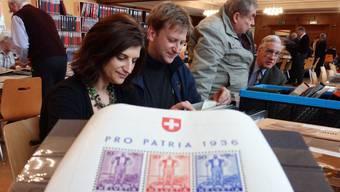 Briefmarken-Ausstellung in Rheinfelden
