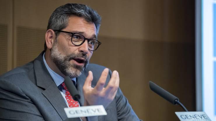 Wird ebenfalls als möglicher Nachfolger gehandelt: Lorenzo Stoll, Chef des Swiss-Geschäfts am Flughafen Genf.