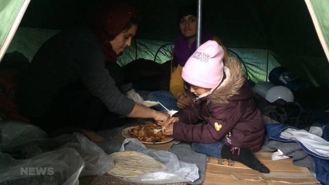 Grosse Flüchtlingsnot in Lesbos