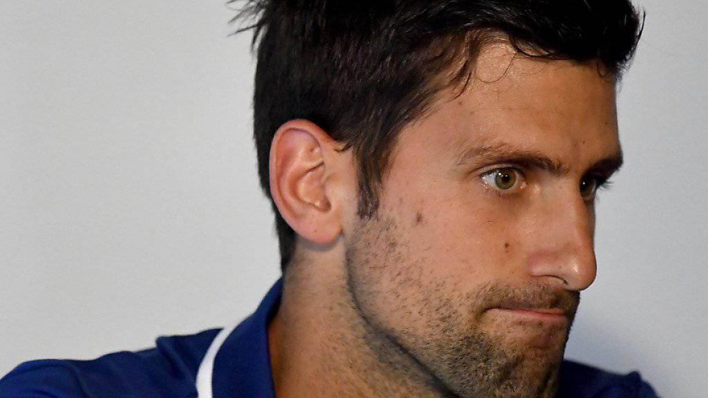 Einer der grossen Abwesenden in London: Novak Djokovic musste seine Saison bereits im Juli beenden