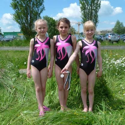 Elin, Fabia, Sarah (P1, von links)