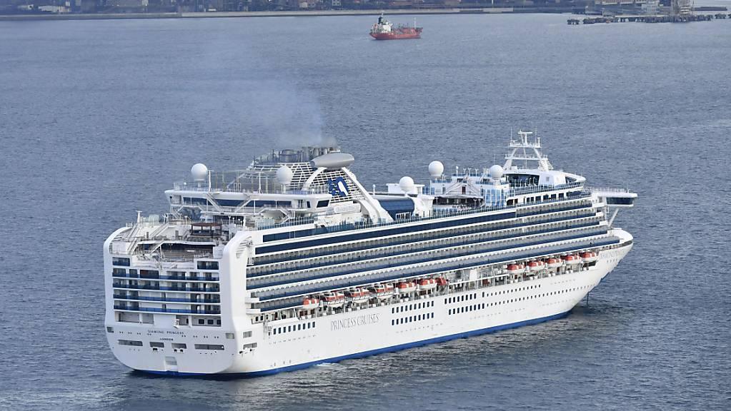 An Bord des in Japan unter Quarantäne gestellten Kreuzfahrtschiffes «Diamond Princess» sind zehn Fälle des neuen Coronavirus festgestellt worden.