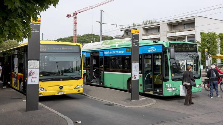 Sowohl BVB als auch BLT wollen auf Elektrobusse umstellen. Die BLT haben fünf Busse, die BVB derzeit nur einen.
