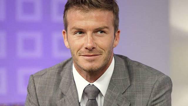 Zufrieden in den USA: Beckham (Archiv)