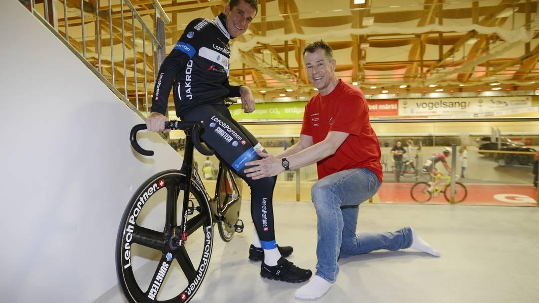 Physiotherapeut ist selbst begeisterter Radfahrer: «Es macht fast ...