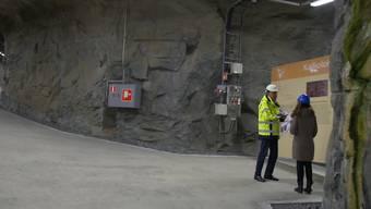 In einem 400 Meter tiefen Schacht sollen die Brennstäbe beerdigt werden.