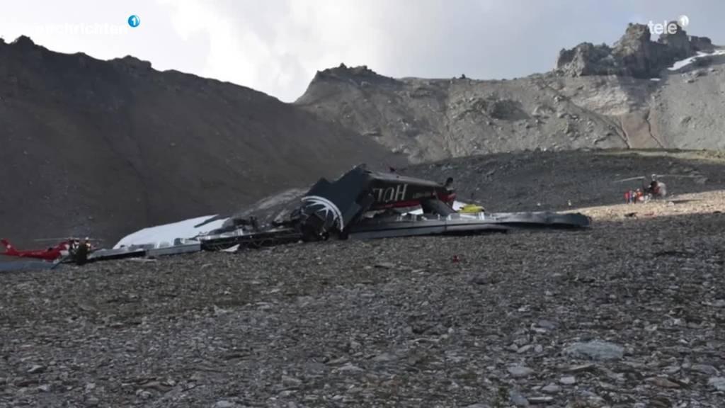 Flugunglück Ju-52 war definitiv Pilotenfehler