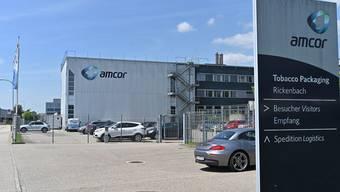 Schwere Zeiten für Amcor in Rickenbach: Das Unternehmen muss umstrukturieren und Personal abbauen.
