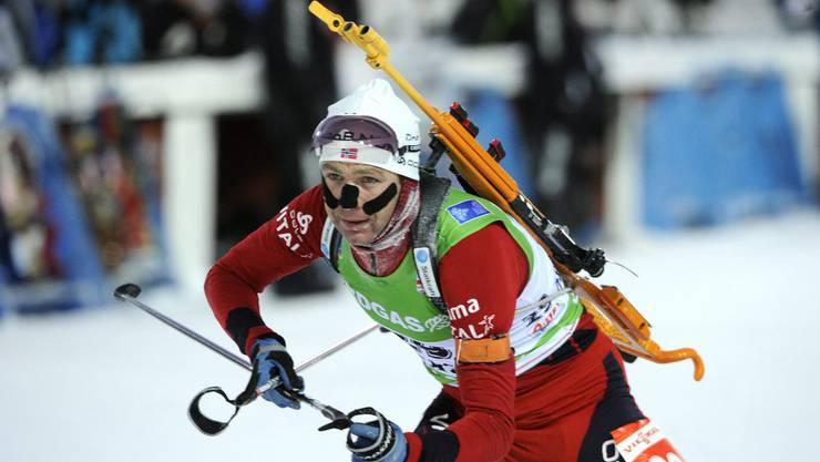 Der alte Mann und das Mehr: Ole Einar Bjørndalen will in seiner 25. Saison im Weltcup weitere Podestplätze sammeln und Titel gewinnen.