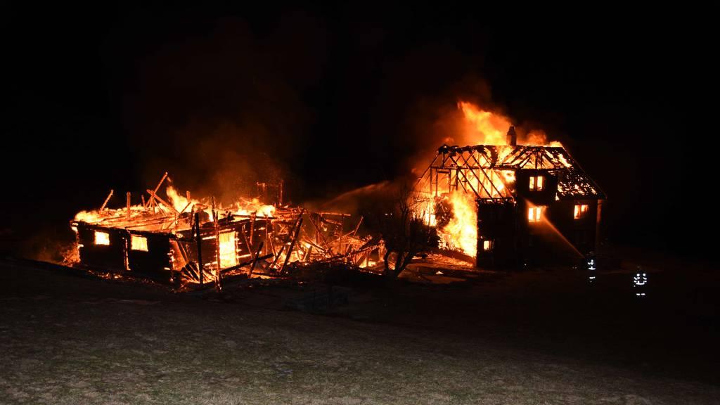 Grosse Solidarität nach Brand in Nesslau