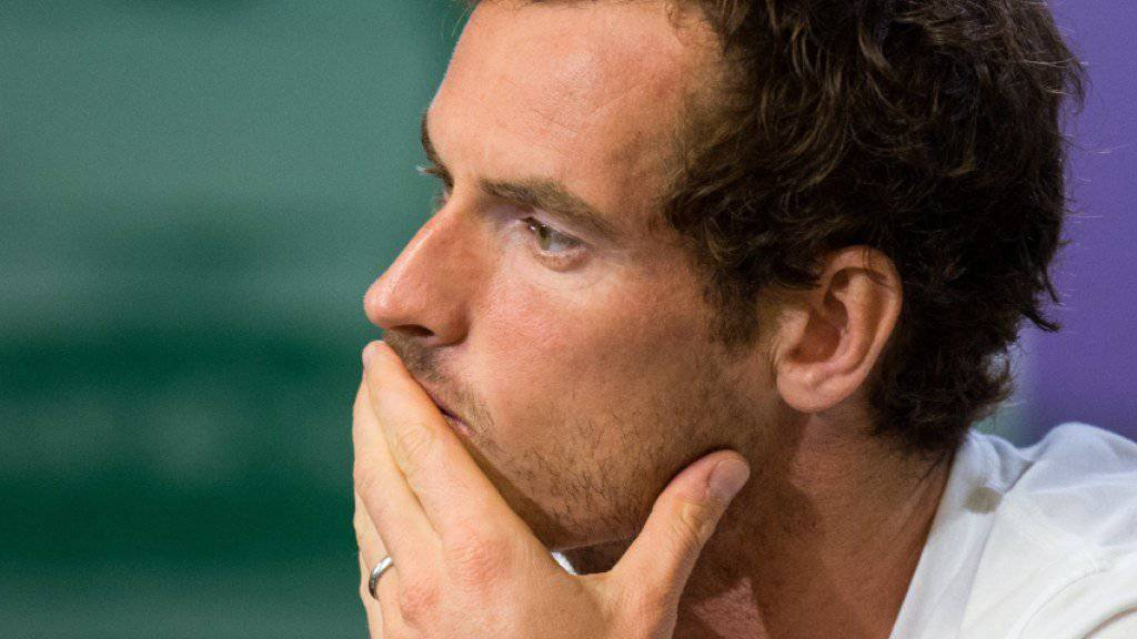 Andy Murray startet nicht in Montreal
