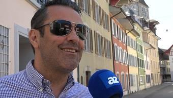 «Ich gehe mit meinem Sohn an den Match – aber nicht in die Stadt»: Das sagen die Aarauer zum Zürcher Fan-Aufmarsch trotz Verbot.