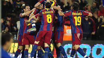 Barcelona setzte nach dem Jahreswechsel seine Siegesserie fort