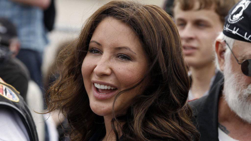 Bristol Palin, Tochter der früheren Vizepräsidentschaftskandidatin Sarah Palin, hat einen äusserst hartnäckigen Verehrer (Archiv).