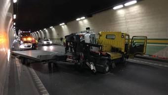 Unfall Arisdorftunnel