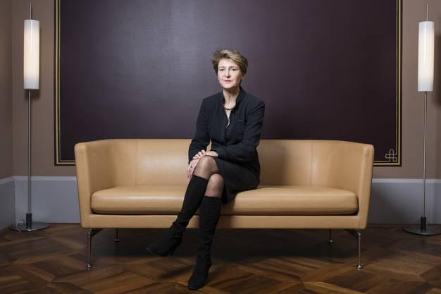 Simonetta Sommaruga (SP): Justiz- und Polizeidepartement (EJPD)