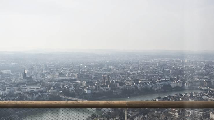 Grandios: Die Aussicht vom Rocheturm.